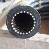 Manguito de goma flexible alineado de cerámica negro Wear-Resistant