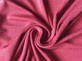 Tecido em malha de malha de algodão de seda