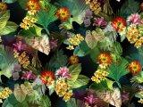 100% nylon impreso de flores tejido textil (ASQ095)