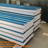 カラー建築材壁および屋根のための鋼鉄EPSサンドイッチパネル