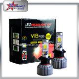 40W jeder Scheinwerfer H7 der Birnen-H4 LED RGB Xhp70 LED für Auto durch Scheinwerfer-Licht Bluetoothcontrol LED