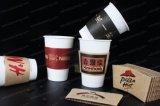 Het drinken de Hitte van de Koffie isoleerde de B-GolfKop van het Document met Deksel