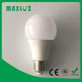 Bulbo de la alta calidad A60 E27 9W LED con el Ce RoHS