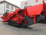 Impacto de Esteiras móvel de trituração e de triagem para reciclagem de materiais de construção