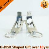 Hete Gift het Roterende Metaal USB Pendrive van 360 Graad (yt-1209)