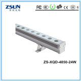 Mini energías bajas de la luminancia de la iluminación DC24V de la arandela de la pared del LED altas