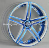 F40173 Aftermarket de Kleurrijke Rand van het Wiel van de Legering van het Aluminium van de Auto