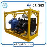 Pompe de amorçage de boue de mine de cuivre d'individu de moteur diesel de 10 pouces