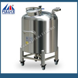 Tanque de armazenamento de creme líquido sanitário do aço inoxidável de Fuluke Grage SUS316L