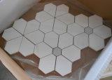preço de fábrica do produto de flores de tijolo de mosaico em mármore de Carrara