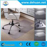 Estera del suelo del PVC para las sillas de la oficina/la estera de encargo del suelo