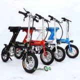 Bici plegable eléctrica del rango de 60 kilómetros en diverso color