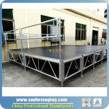 Pequeña etapa de la etapa portable móvil de aluminio para el acontecimiento de interior al aire libre