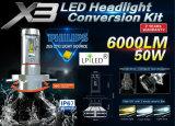 자동 헤드라이트 LED 차 빛