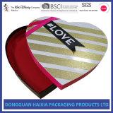Contenitore di regalo caldo del documento del tè della caramella di cioccolato del biglietto di S. Valentino di vendita