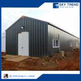 Almacén de acero prefabricado ligero de instalación rápido del precio bajo de la buena calidad