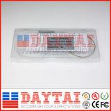 il divisore 1X2 del PLC 250um scopre il divisore ottico della fibra senza connettore