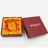 Rectángulo de joyería del regalo del papel de la cartulina del surtidor de Hacer-en-China (J02-C)
