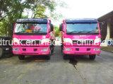 Vrachtwagen van de Kipper van de Steen van het Zand FAW Dongfeng de Dragende Gebruikte Zware Kipwagen