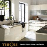 Meubilair van de Keuken van het Ontwerp van het Eiland van de Keuken van Shinning het Heldere Zwarte (AP033)