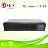 3kVA/2400W de UPS de montaje en rack con el paquete de batería externa.