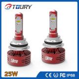 Selbst-LED-Scheinwerfer 25W Philip H4 H7 9004 9006 9007 LED-Hauptlicht