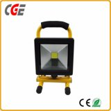 reflector recargable de 10W 680lm LED