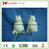 Insieme di ceramica non finito del kit del mestiere della vernice della Banca dei soldi della moneta del Ladybug di DIY