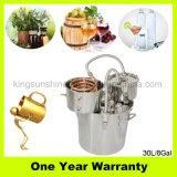Destilador multi del agua del hogar de la función de Kingsunshine para los petróleos esenciales con el barrilete del latido