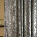 Parede de cortina de malha de arame decorativas