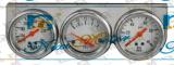 Automobil-und LKW-magnetisches dreifaches Bildschirmanzeige-Anzeigeinstrument