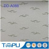 Poly tissu imperméable à l'eau de jacquard de Knit pour le protecteur de matelas