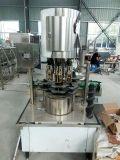 Het automatische Bier dat van de Fles van het Glas en het Afdekken Machine vult