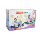 De plastic Rit van de Jonge geitjes van het Speelgoed op Hobbelpaard (H0940307)