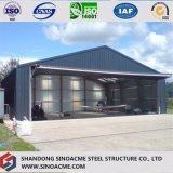 Sinoacme Prefabaricatedの飛行機の格納庫のための軽い鉄骨フレームの建物