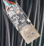 Высокий тип кабеля a разрешения HDMI для того чтобы напечатать кабель на машинке c