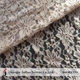 Moda textil de algodón grueso tejido de encaje (M3379)