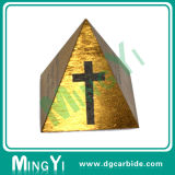 Custom высокого качества со стороны пресс-формы сплава блок пирамидальной формы