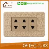 Klass Venda quente carregador USB de 2 vias com tomada elétrica