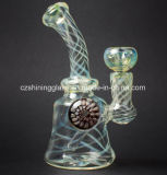 Plates-formes pétrolières en verre des graines populaires de zèbre pour le fumage