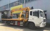 4X2 Wrecker 6 Ton die Vrachtwagen met de Telescopische Prijs van de Kraan laden