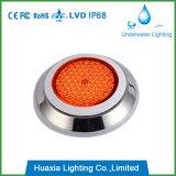 2 años de acero inoxidable de la garantía Pared-Cuelgan la luz de la piscina del LED