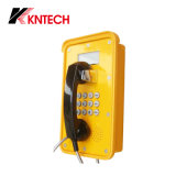 Impermeable SIP VoIP Teléfono Pantalla Industrial Kntech Knsp-16 LCD