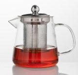 de Pot van de Thee van het Glas 400ml Borosilicate voor Theeblaadje, de Hete Theepot van de Verkoop