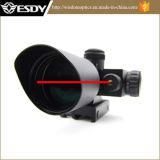 Systeme optique Riflescope tactique 2.5-10X40e avec la vue verte et rouge de laser