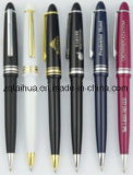 Stylo de bureau de promotion sur mesure, stylo bille noir (TH-pen049)