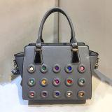 最新のデザイナー方法ハンドバッグの女性多彩な散りばめられたトートバックの工場価格Sy8026