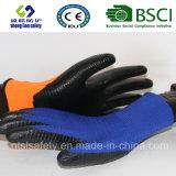 interpréteur de commandes interactif du polyester 13G avec les gants de travail enduits par nitriles (SL-N119 (1))
