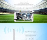 Blanc de smartphone d'identification d'empreinte digitale de ROM 3G WCDMA du RAM 16GB de la came 5MP 2GB de l'androïde 6.0 de faisceau de quarte de pouce HD Mtk6580 du téléphone mobile 5 de Leagoo M5
