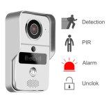 Напольный дверной звонок WiFi видео- с функцией контроля допуска RFID